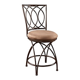 Powell Big and Tall Metal Crossed Legs Stool