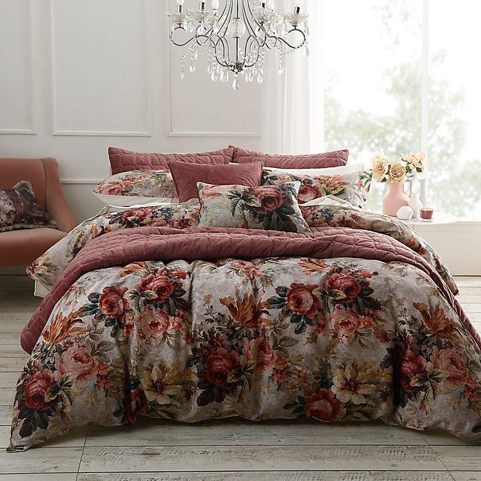 Alternate image 1 for MM Linens Vintage Floral 3-Piece Comforter Set