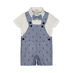 Beetle & Thread® 3-Piece Shirt, Overall and Bow Tie Set