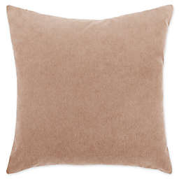 O&O by Olivia and Oliver™ Solid Velvet Reversible Square Throw Pillow in Camel