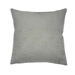 MM Studio Embroidered Square Throw Pillow in White