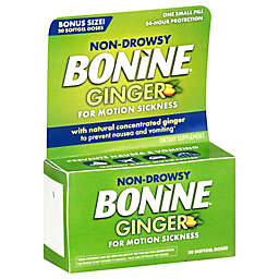Bonine® 20-Count Non Drowsy Ginger For Motion Sickness Soft Gels