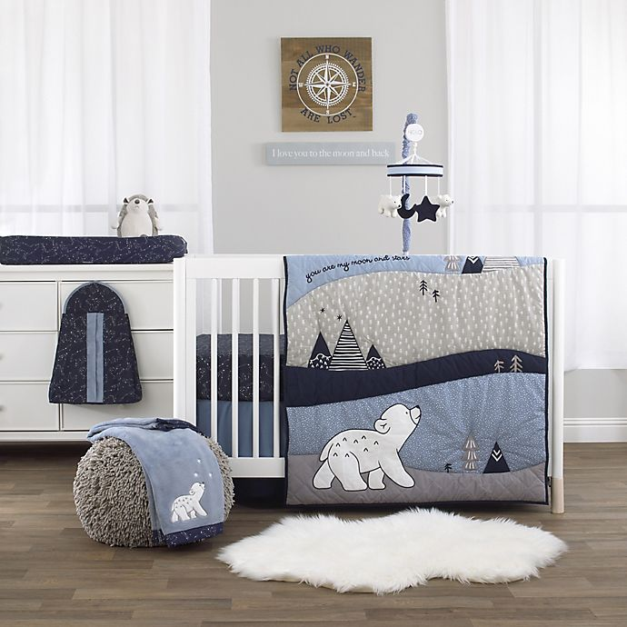 Nojo Cosmo Bear Nursery Bedding