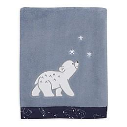 NoJo® Cosmo Bear Plush Baby Blanket in Light Blue