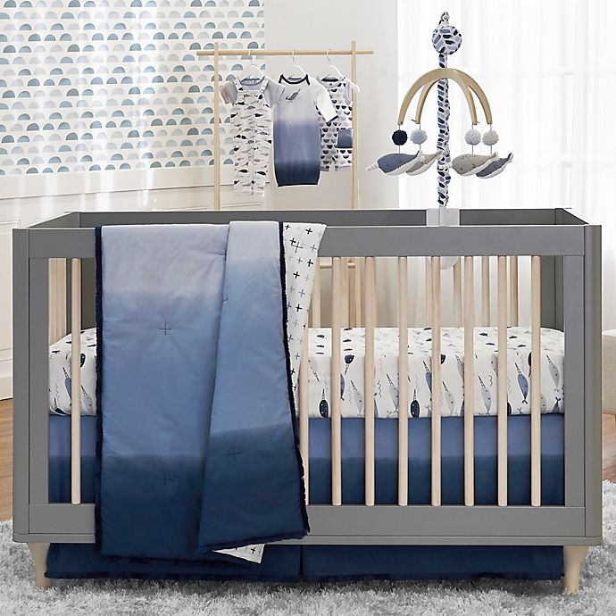 Alternate image 1 for just born® Dream Ombre Nursery Bedding Collection in Blue