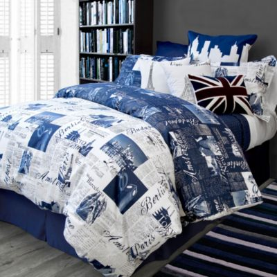 Bedlam Pport Reversible Duvet Cover