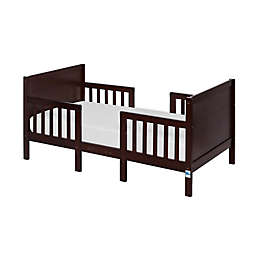 Dream On Me Hudson 3-in-1 Convertible Toddler Bed in Espresso