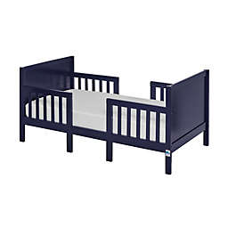 Dream On Me Hudson 3-in-1 Convertible Toddler Bed in Navy