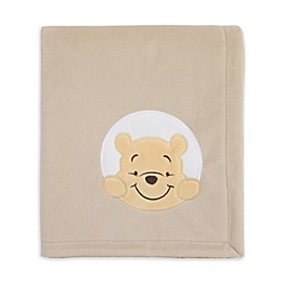 Disney® Winnie The Pooh Hunny & Me Stroller Blanket in Grey