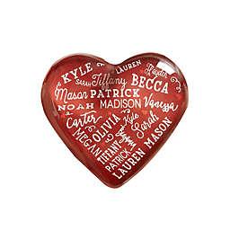 Close To Her Heart Personalized Mini Heart Keepsake
