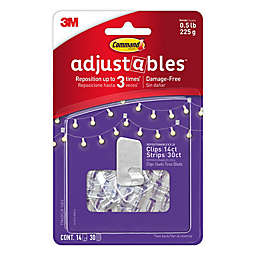 3M Command® 14-Pack Adjustable Picture Clips