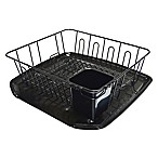 SALT™ Small Dish Rack in Black