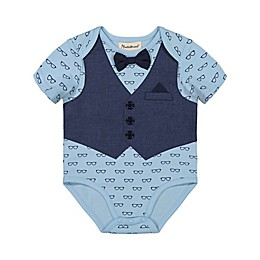 Beetle & Thread® Bow Tie and Vest Bodysuit