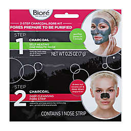 Biore® 2-Step Deep Cleansing Charcoal Pore Kit
