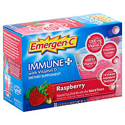 Emergen-C Immune+ Vitamin D 30-Count Fizzy Drink Mix Packets in Raspberry