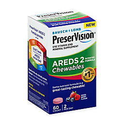 Bausch + Lomb PreserVision® AREDS 2 Chewable Eye Vitamin and Mineral Supplement