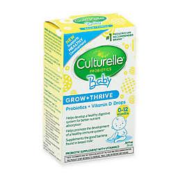 Culturelle® Baby .30 oz Grow & Thrive Probiotic & Vitamin D Drops