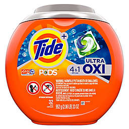Tide® PODS 32-Count Ultra OXI Laundry Detergent