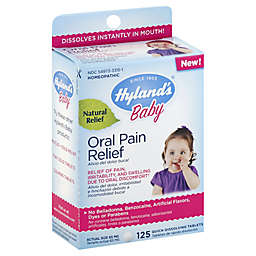 Hyland's® 125-Count Baby Oral Pain Relief Quick Dissolving Tablets
