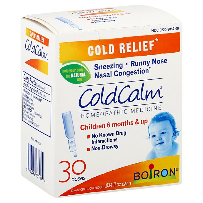 Alternate image 1 for Boiron® ColdCalm® 30-Count Baby Homeopathic Cold Relief Liquid Doses