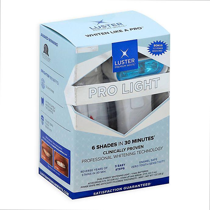 Alternate image 1 for Luster Pro Light Dental Whitening System™ with Bonus 1 oz. PowerWhite Pro