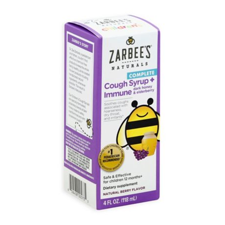 Zarbee S 174 4 Fl Oz Naturals Complete Cough Syrup Immune