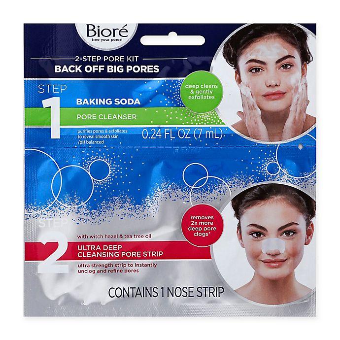 Alternate image 1 for Biore® Back-Off Big Pores 2-Step Pore Kit