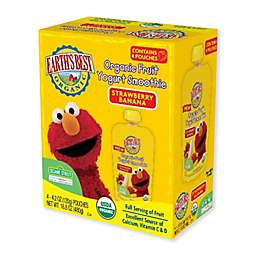 Earth's Best® 4-Pack Strawberry Banana Organic Yogurt Smoothie