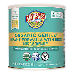 Earth's Best® 23.2 oz. Organic Gentle Infant Formula With Iron Milk-Based Powder