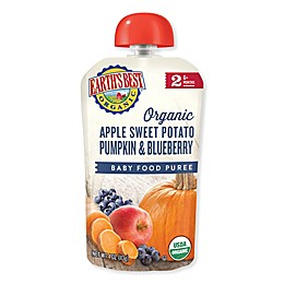 Earth's Best® 4 oz. Organic Stage 2 Apple Sweet Potato Pumpkin Blueberry Baby Food