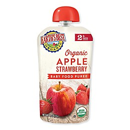 Earth's Best® 4 oz. Organic Stage 2 Apple Strawberry Baby Food