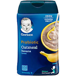 Gerber® 8 oz. Probiotic Oatmeal and Banana Cereal