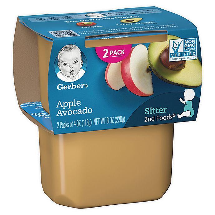 Alternate image 1 for Gerber® 2nd Foods® 2-Pack 4 oz. Apple Avocado