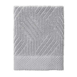 Nowhouse by Jonathan Adler Bleecker Washcloth in Grey