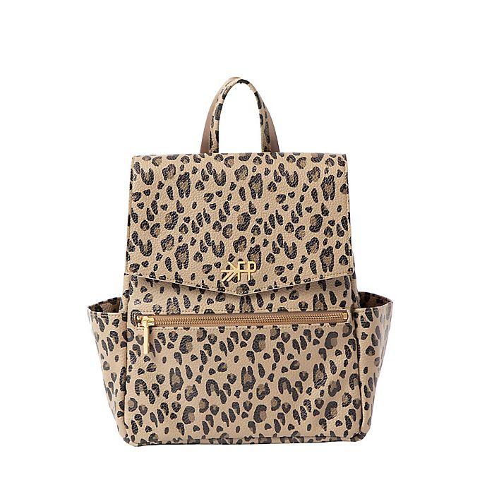 Alternate image 1 for Freshly Picked Classic Mini Diaper Backpack in Leopard