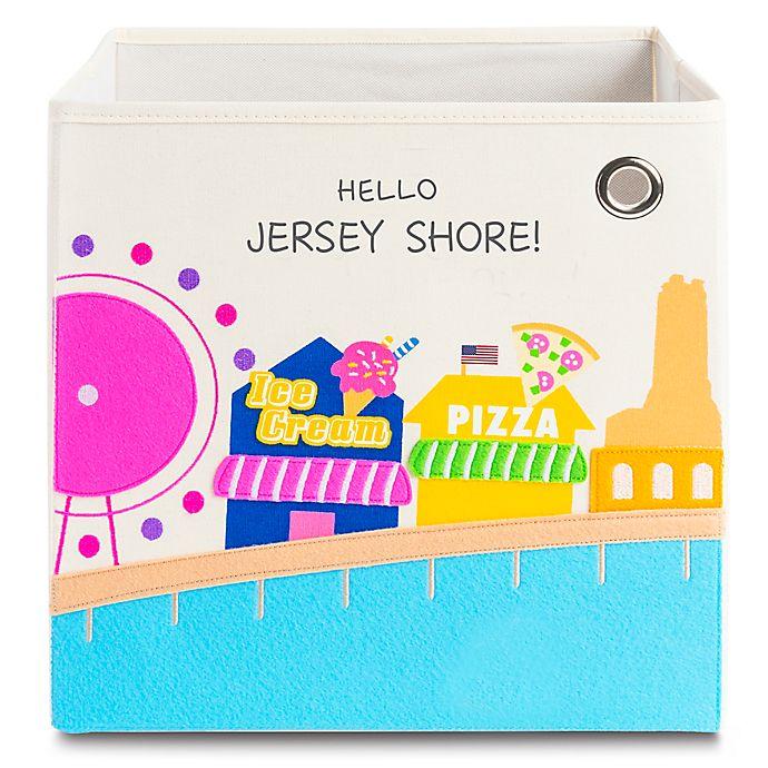Alternate image 1 for kaikai & ash Jersey Shore Kid's Storage Bin