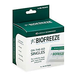 Biofreeze® 16-Count Classic Pain Relief On-The-Go Singles Gel Packets