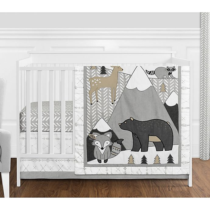 Alternate image 1 for Sweet Jojo Designs Woodland Friends Bedroom Collection