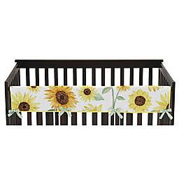Sweet Jojo Designs Sunflower Rail Guard in Yellow/Green