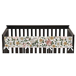 Sweet Jojo Designs Vintage Floral Rail Guard in Pink/Green