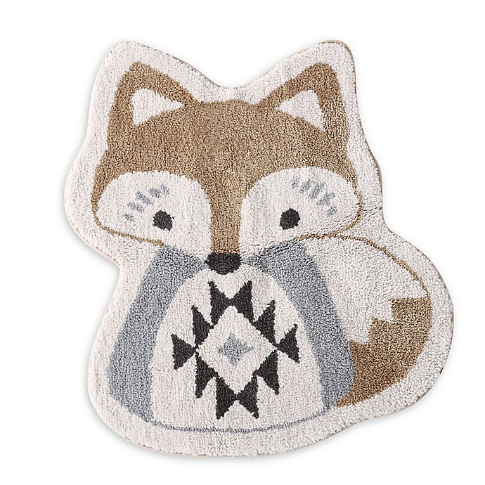Alternate image 1 for Levtex Baby Bailey Fox 2'7 x 2'4 Accent Rug in Brown