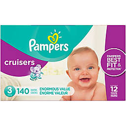 Pampers® Cruisers™ Size 3 140-Count Disposable Diapers