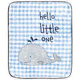 Hudson Baby Polyester Toddler Blanket in Blue