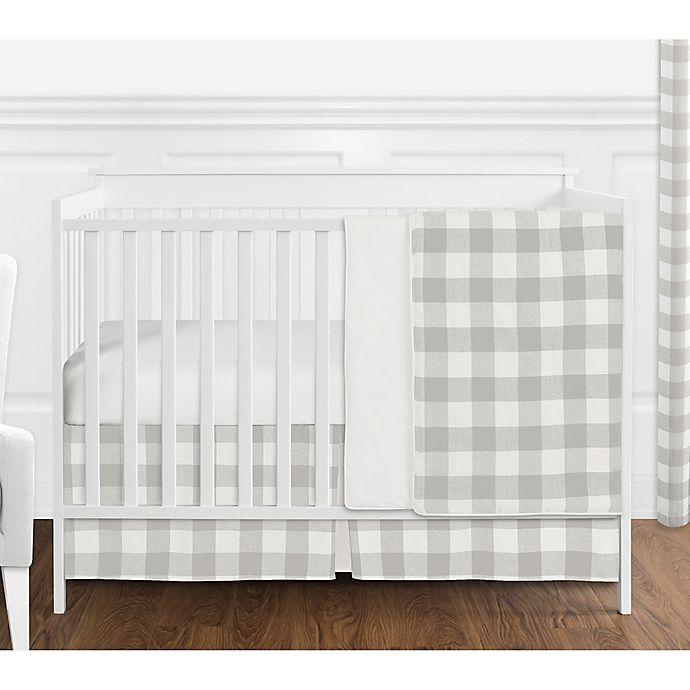 Sweet Jojo Designs Buffalo Check 4, Buffalo Plaid Crib Bedding Set