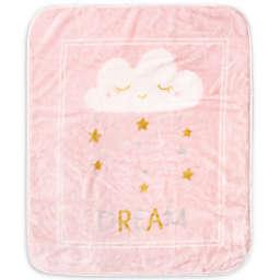 Hudson Baby Dream Star Toddler Blanket in Pink