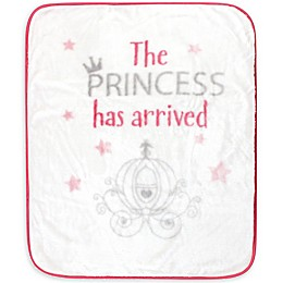 Hudson Baby Princess Arrived Toddler Blanket in Pink