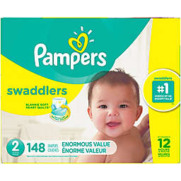 Pampers® Swaddlers™ 148-Count Size 2 Pack Diapers