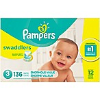 Pampers® Swaddlers™ 136-Count Size 3 Pack Diapers