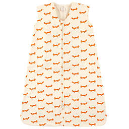 Touched by Nature Size 0-6M Organic Cotton Fox Sleeping Bag in Orange