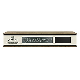 Bee & Willow™ 30-Inch Chalkboard Shelf